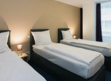 Three-bed room